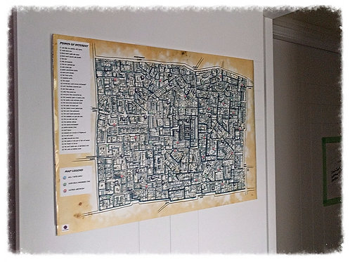 Walled City Map