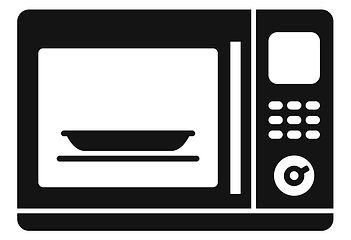 kitchen-microwave-icon-simple-style-vect