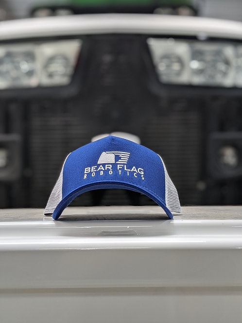BFR BLUE/WHITE SNAPBACK