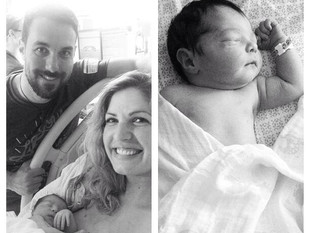 Jackie Francois & Husband, Bobby, Welcome their Firstborn Baby into the World!