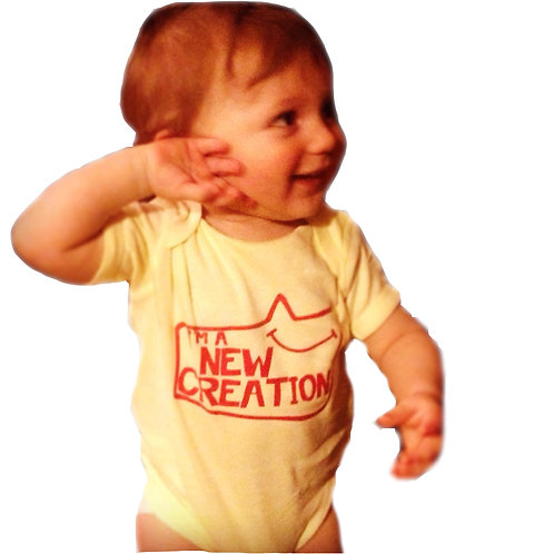"""New Creation"" - Baby Onesie"