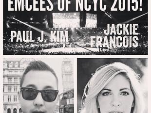 Jackie Francois & Paul J. Kim Emcees for 2015 NCYC!