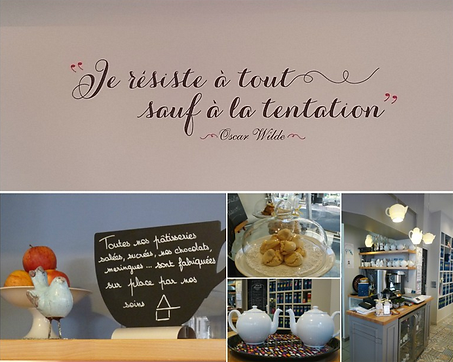 Gourmandise chez Dame Gourmande Granville salon de thé