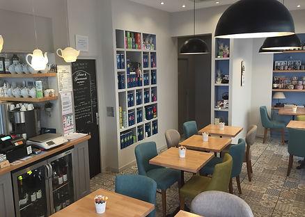 Salon de thé Granville Thé et tartes salées et sucrées à toute heure