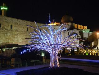 פסטיבל האור בירושלים 2012