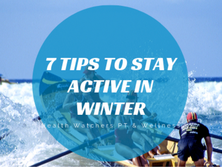 7 Tips to Stay Active this Winter