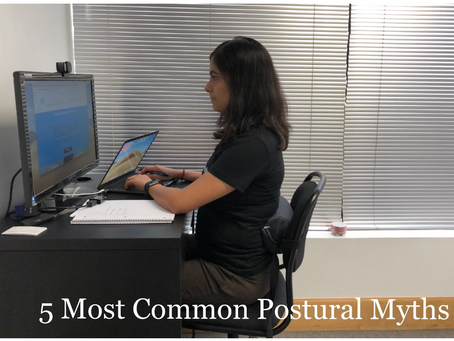 5 Most Common Myths about Good Posture!
