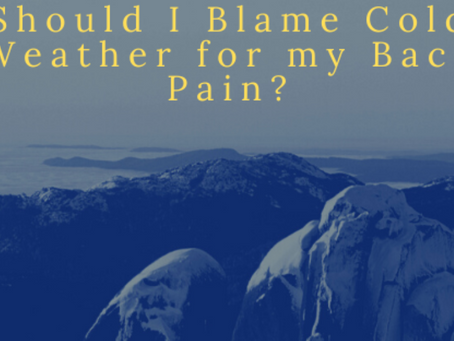 Should I Blame Cold Weather for my Back Pain?