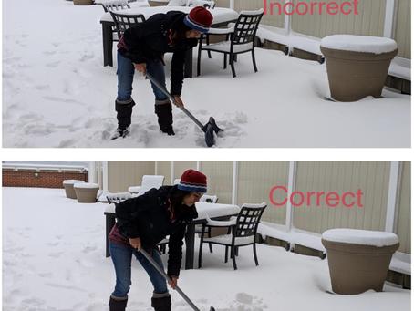 Avoid Back Pain this Snow Season