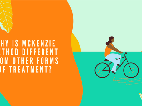 Why is Mckenzie Method Different from Other forms of Treatment?