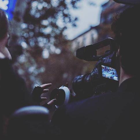 "Rodaje cortometraje ""Valientes"""