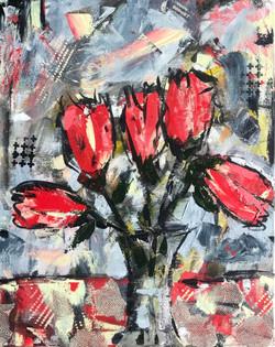 Grungy Tulips