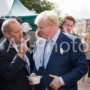 Boris Jonhson MP in Bromley Kent