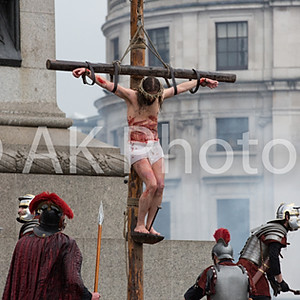 The Passion of Jesus in Trafalgar Square