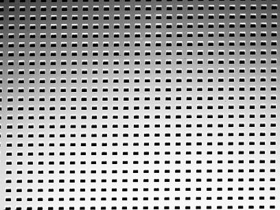 2D silicon hartmann wavefront plate