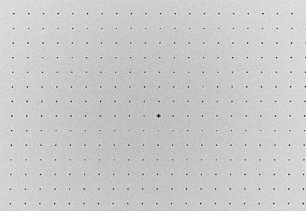 2D silicon holes hartman sensor plate