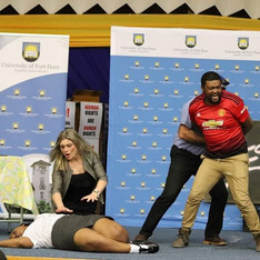 # Blessed performance at Fort hare University