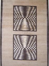 6x9 Pure wool & Silk