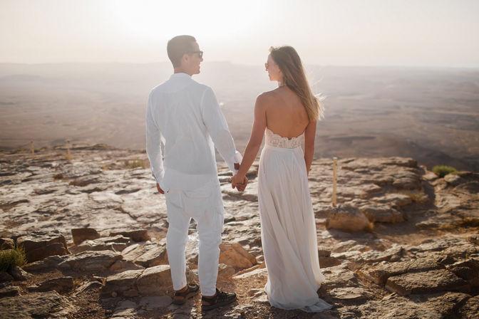 Imagen AI wedding photo edit | Newlywed couple