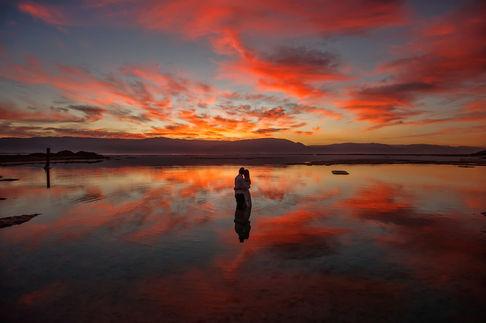 Red clouds | ImagenAI edited photo