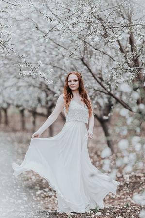 Boho wedding dress | ImagenAI