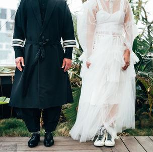 Couple with no head | Photo editing style | ImagenAI