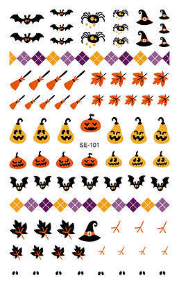 Nail Sticker - Halloween101