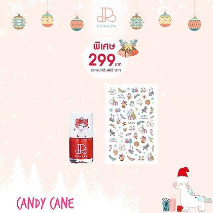 Candy Cane Nail Set