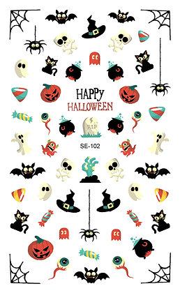 Nail Sticker-Halloween102