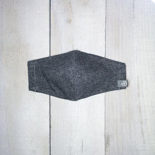 B.i.Mask YOUTH | charcoal organic jersey