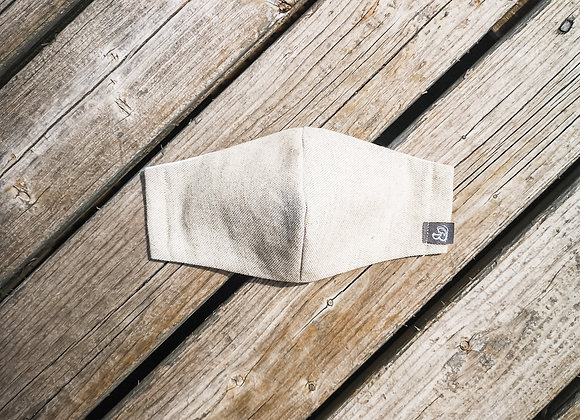 B.i.Mask YOUTH | beige soft canvas