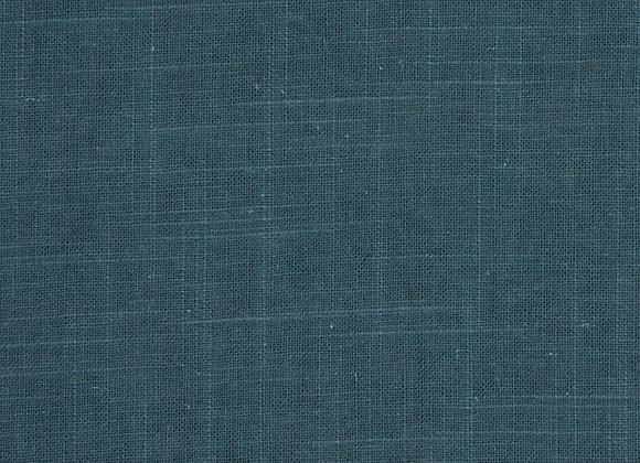 B.i.pillow | turquoise slubbed cotton