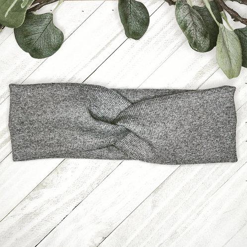 B.i.headband   heathered gray