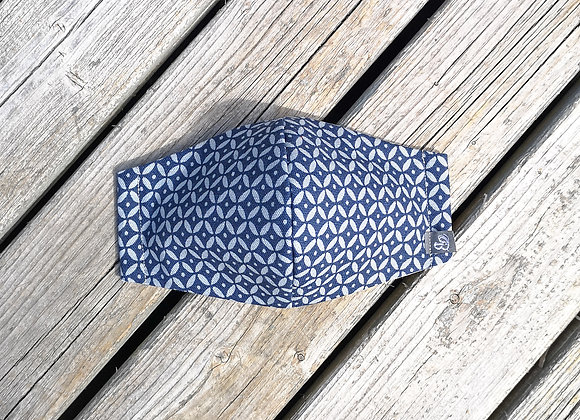 B.i.Mask | navy picket fence