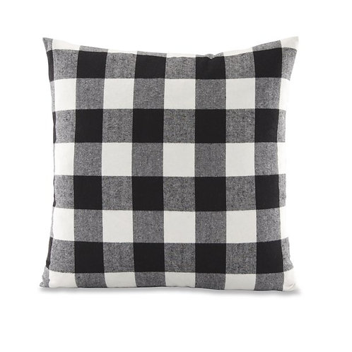 B.i.pillow - check | b&w