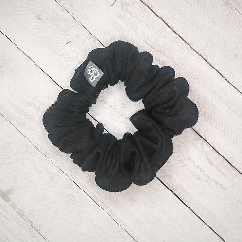 B.i.scrunchies | ribbed black