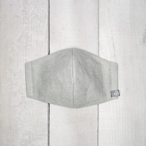 B.i.Mask XL | greystone slubbed cotton