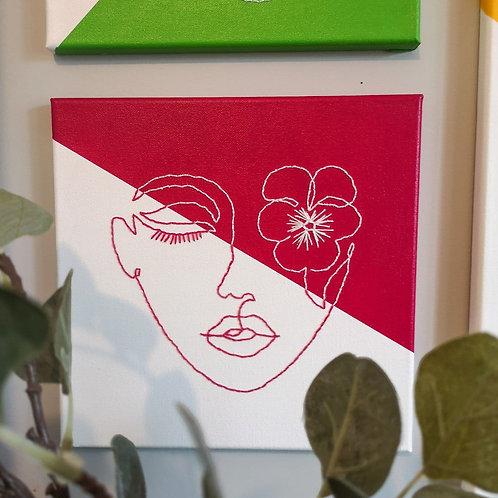 FLOWER GIRL SERIES | pansy