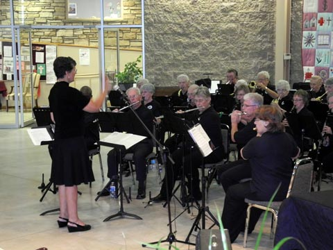 Harmony Lakeshore Band2conduct