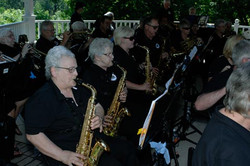 Saxophone Section at Bowmanville