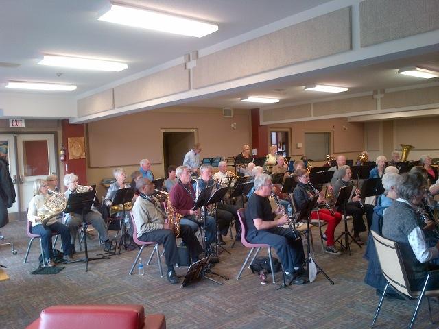 Harmony Lakeshore Rehearsal
