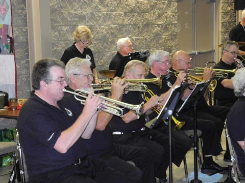 Brass at Faith United In Courtice