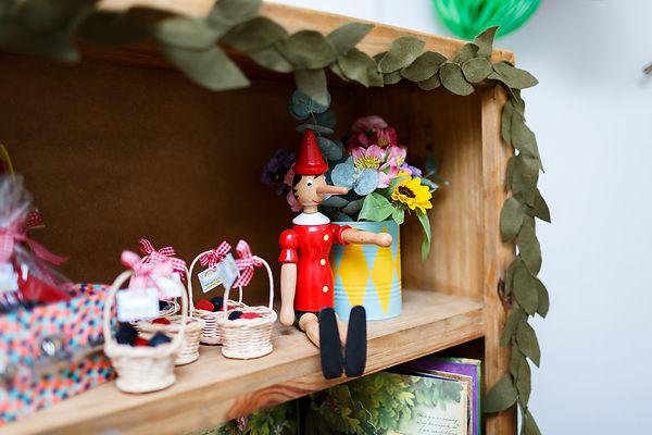 Pinóquio boneco de madeira - Festa Era uma Vez