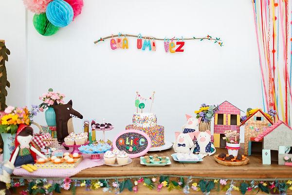 Festa Era uma vez afetiva, delicada e artesanal