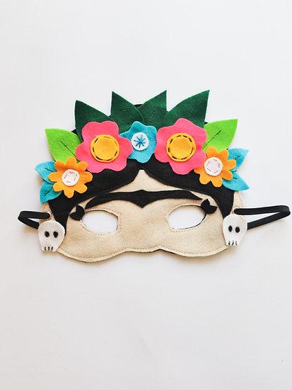 Máscara Frida Kahlo