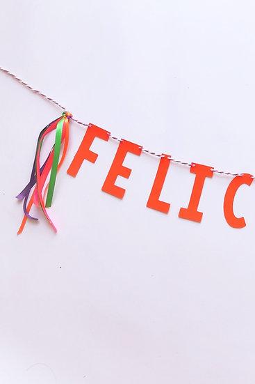 Cordão de letras Mexicana