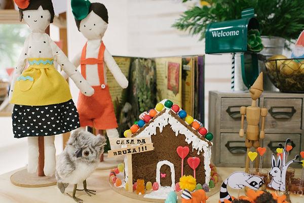 festa joão e maria, casa da bruxa, gingerbread house, era uma vez