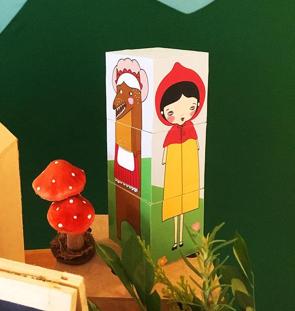Papelaria personalizada criativa chapeuzinho vermelho