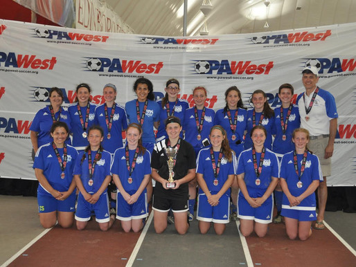 HASC U19 Girls team come back to win Silver Division of the PA West Open Tournament
