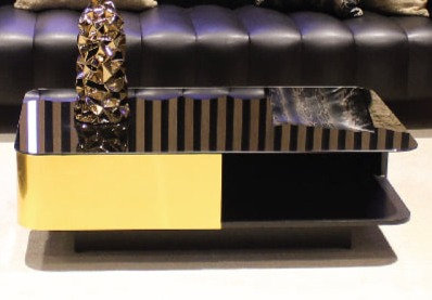 Low Table Black/Gold